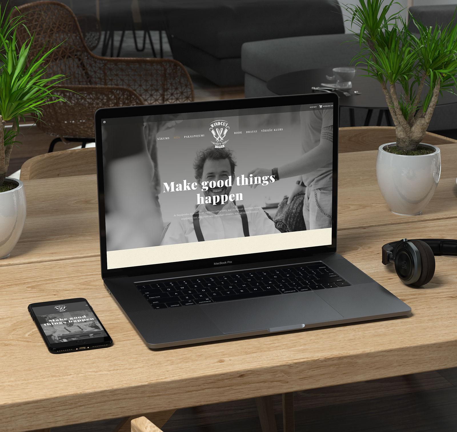 Digital-Agency-Latvia-Windcut-Barbershop