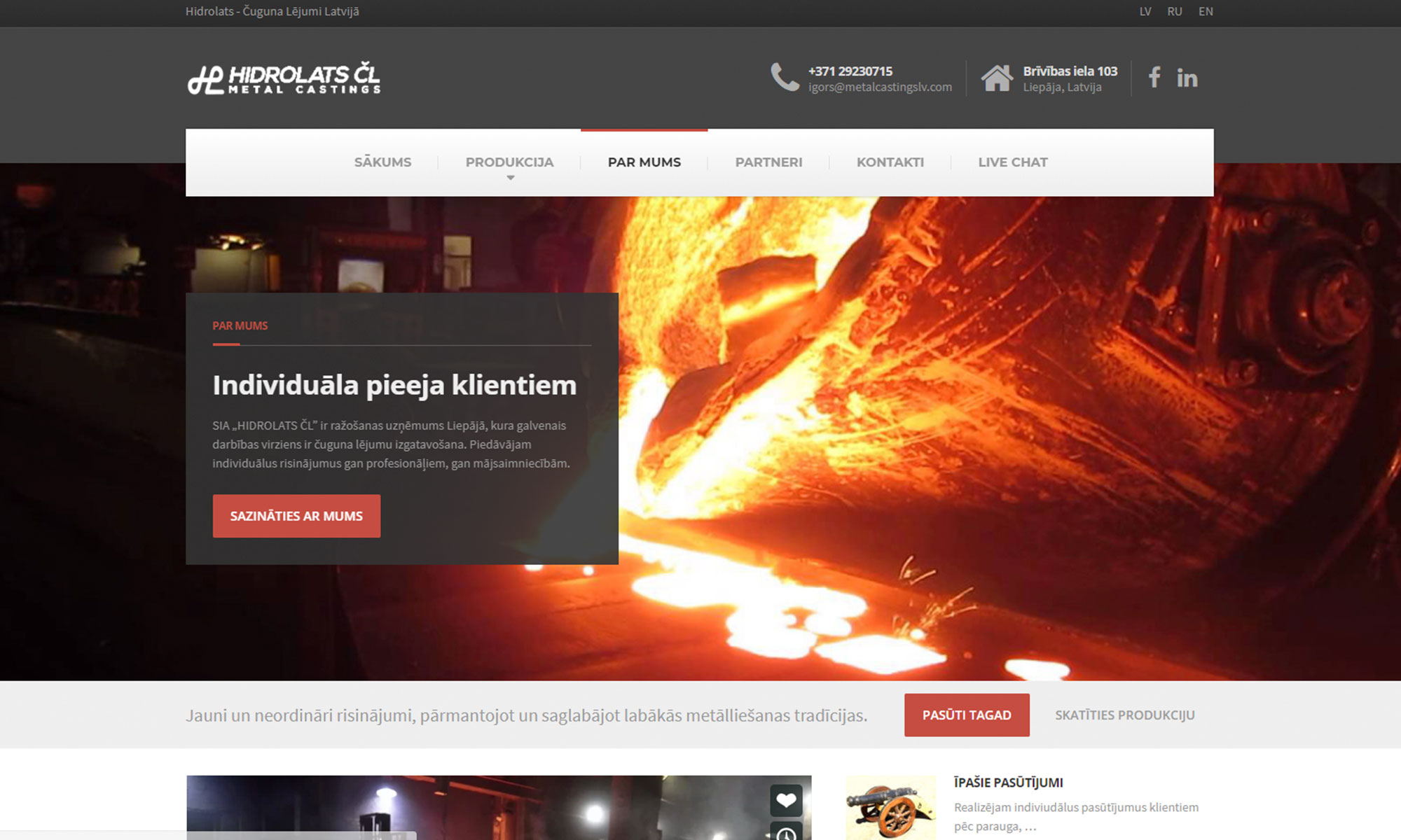 Digital-Agency-Latvia-Windcut-Hidrolats-Metal-Casting-Web-Development