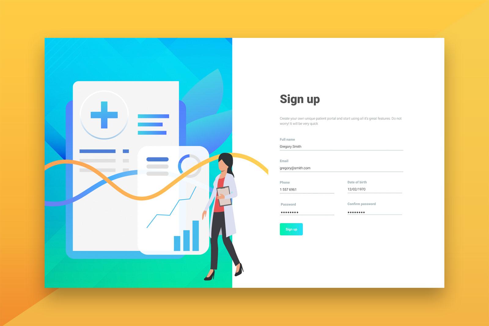 Digital Agency Latvia - Patient Booking Portal